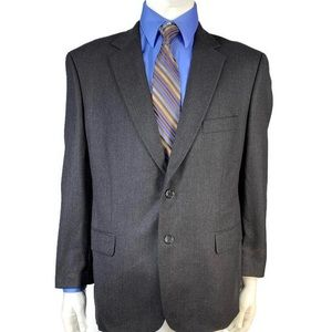 Joseph & Feiss 100% Lambswool Mens Blazer Size 44S